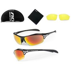 Accent Okulary crest czarny / kolor soczewek: nie dotyczy / rodzaj szkieł: standardowe