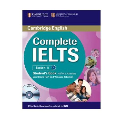 Complete IELTS Bands 4-5. Podręcznik Bez Klucza + CD