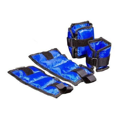Obciążniki na ręce lub nogi (nadgarstki i kostki) – niebieskie