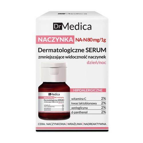 Dermatologiczne serum zmniejszające widoczność naczynek naczynka 30ml dr medica Bielenda