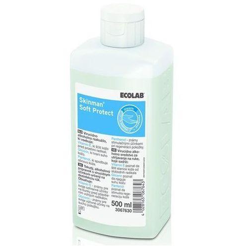 Ecolab Skinman Soft Protect do dezynfekcji rąk 500ml, NN-MEC-DNAB-003