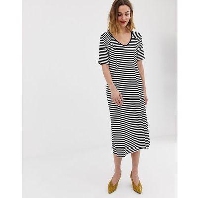 a03459369b suknie sukienki koktajlowa midi sukienka na cienkich ramiaczkach ...