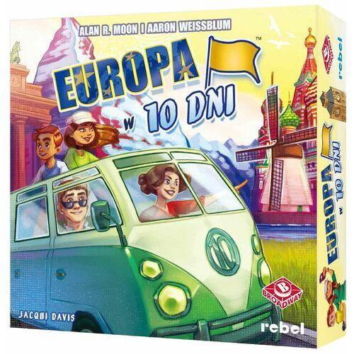 Europa w 10 dni gra planszowa marki Rebel
