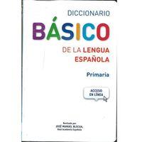 Diccionario Basico de la lengua Espanola Primaria+dostęp online (2018)