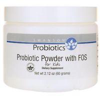 Swanson Probiotyki z FOS dla dzieci 60g