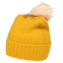 PIECES Czapka 'DIANA' żółty, kolor żółty