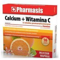 Calcium + Witamina C o smaku pomarańczowym x 16 tabletek musujących