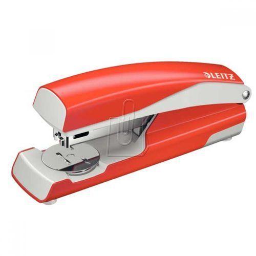 Zszywacz średni metalowy Leitz WOW NeXXt series jasnoczerwony 55020020 (4002432101177)