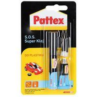 s.o.s. super klej do plastiku 2g+4ml marki Pattex