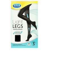 SCHOLL 1 szt Light Legs S Rajstopy uciskowe przeciw żylakom 60 DEN czarne