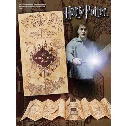 The noble collection Mapa huncwotów harry potter replica marauder map (nn7888)