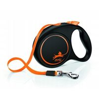 FLEXI Limited Edition Smycz M - taśma 5m pomarańczowa (4000498033623)