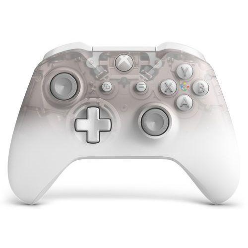 Kontroler bezprzewodowy MICROSOFT WL3-00121 Phantom White Special Edition do Xbox One (0889842417876)
