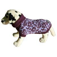 Ami play sweter dla psa kwiatki fioletowe rozm.3 końcówka kolekcji