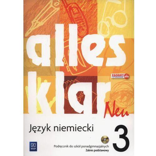 Język niemiecki Alles klar Neu 3 podręcznik LO / Zakres podstawowy - Krystyna Łuniewska, Zofia Wąsik, oprawa miękka