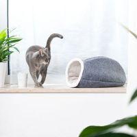 Cosma budka dla kota - Dł. x szer. x wys.: 50 x 37 x 25 cm| DARMOWA Dostawa od 89 zł + Promocje od zooplus!| -5% Rabat dla nowych klientów (4054651857007)