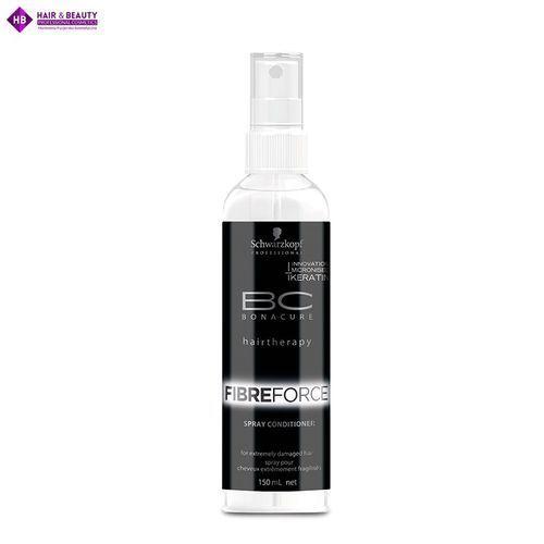 Bc bonacure odżywka fibreforce w sprayu z keratyną 150 ml Schwarzkopf