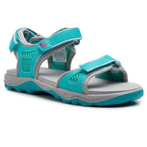 Sandały JACK WOLFSKIN - Acora Beach Sandal G 4030011 S Aquamarine, kolor niebieski