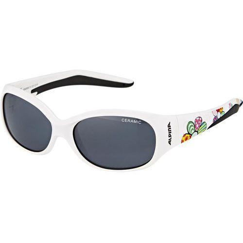 Alpina Flexxy Kids Okulary Dzieci, white flower 2019 Okulary przeciwsłoneczne dla dzieci