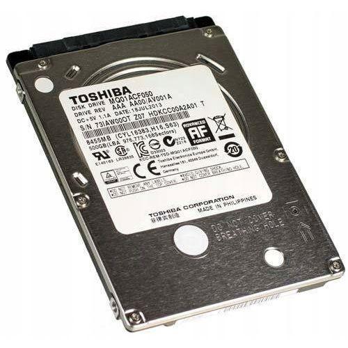 Dell Nowy dysk twardy toshiba hdd 2,5'' 500gb slim 7 mm