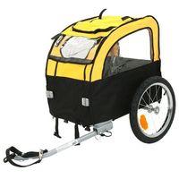 Zooplus exclusive Przyczepka rowerowa mini bee - dł. x szer. x wys.: 105 x 58 x 73 cm / do 25 kg| -5% rabat dla nowych klientów| dostawa gratis + promocje (4054651491621)