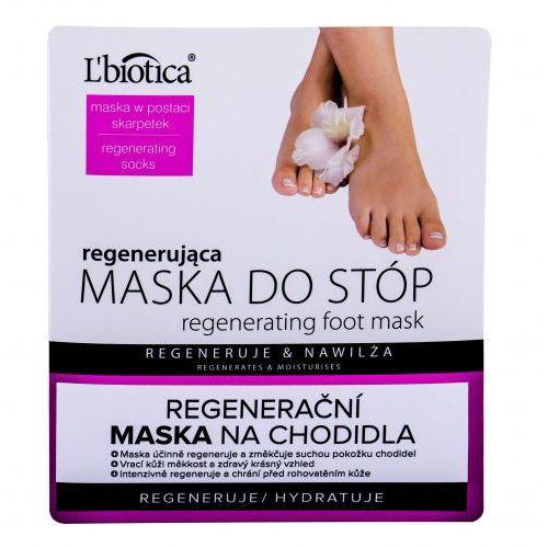 L´biotica foot mask regenerating pielęgnacja stóp 1 szt dla kobiet - Genialna obniżka