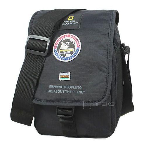 explorer torba na ramię / saszetka / n01105.06 - czarny marki National geographic