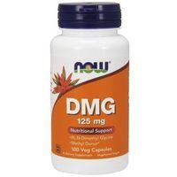 Witaminy NOW DMG (witamina B15) 125mg 100 kaps Najlepszy produkt
