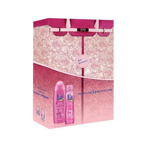 Henkel Fa feel fantastic pink passion zestaw kosmetyków dla kobiet (żel + dezodorant)