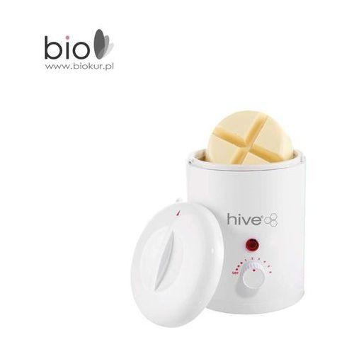 Biosmetics gmbh Hive petite compact heater - podgrzewacz do wosku 200 ml plus 100 g wosk dla wrażliwych obszarów skóry