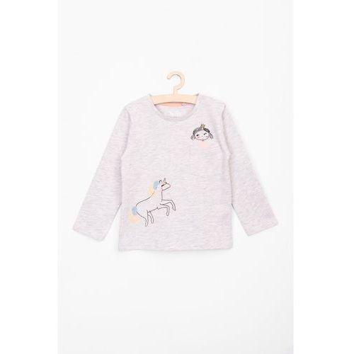 Bluzka dla niemowlaka- długi rękaw6h3707 marki 5.10.15.