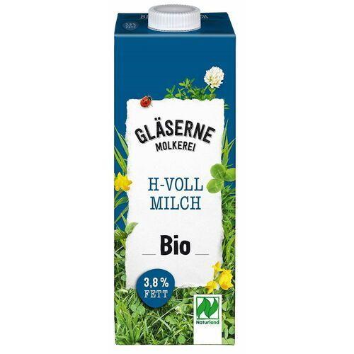 Glaserne meierei (mleko krowie) Mleko uht 3,8 % bio 1l - glaserne meierei - Super oferta