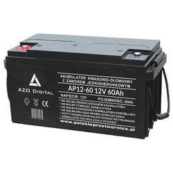 Akumulatory żelowe AGM  AZO DIGITAL PolskiePrzetwornice.pl