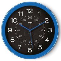 Zegar ścienny PBS Pro Gloss niebieski (3462159002750)