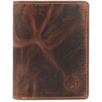Billy the Kid Ranger Portfel RFID skórzany 9 cm brown ZAPISZ SIĘ DO NASZEGO NEWSLETTERA, A OTRZYMASZ VOUCHER Z 15% ZNIŻKĄ