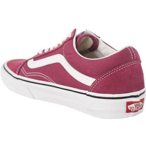 Old skool u64 dry rose true white buty sneakersy czerwony (Vans)