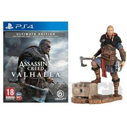 Assassin's Creed Valhalla Edycja Ultimate + Figurka Eivor PS4, KGP4ACVULZFIGU