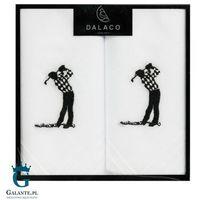 Białe chusteczki materiałowe dla golfisty hr-08