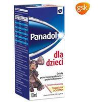 Panadol dla dzieci (smak truskawkowy) 100 ml (5909990327317)