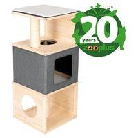 Urodzinowa edycja Cubist domek dla kota - Dł. x szer. x wys.: 40 x 40 x 96 cm| Dostawa GRATIS + promocje| -5% Rabat dla nowych klientów (4054651885109)