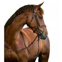 ogłowie wędzidłowe classic, skóra, brązowe, rozmiar full, 324913 marki Kerbl