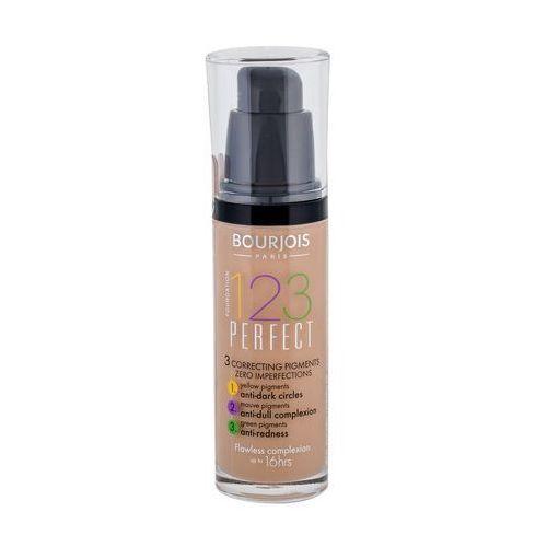 Bourjois 123 Perfect podkład w płynie nadający idealny wygląd odcień 55 Beige Fonce SPF 10 (123 Perfect Foundation) 30 ml - Najlepsza oferta
