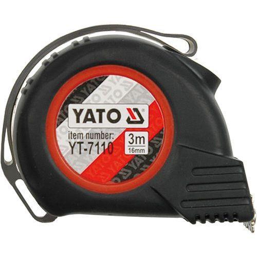 Miara zwijana 8 m x 25 mm yt-7112 - zyskaj rabat 30 zł marki Yato