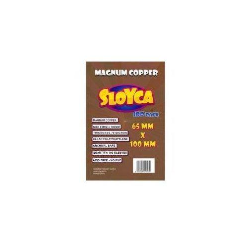 Koszulki Magnum Copper 65x100mm (100szt) SLOYCA (5903268596030)