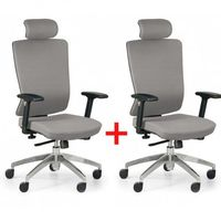 Krzesło biurowe Ned F 1+1 GRATIS