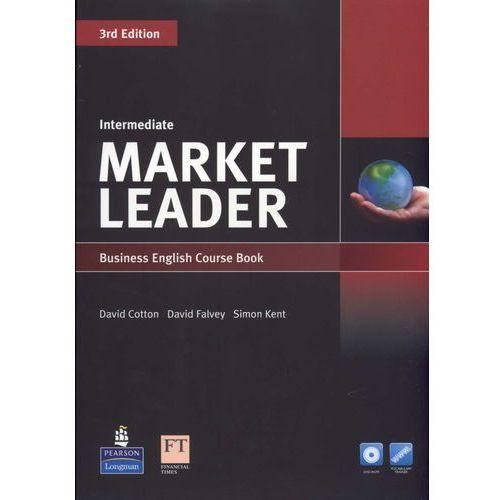 Market Leader 3rd Edition Intermediate, Coursebook (podręcznik) plus DVD-ROM (176 str.)