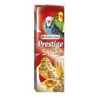 VERSELE-LAGA Prestige Sticks Budgies Honey 60 g - Kolby Miodowe Dla Papużek Falistych - DARMOWA DOSTAWA OD 95 ZŁ!