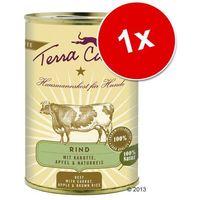 Terra Canis, 1 x 400 g - Wołowina z marchewką, jabłkiem i ryżem naturalnym (4260109620240)