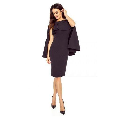 Ołówkowa sukienka z pelerynką (5903093209693)