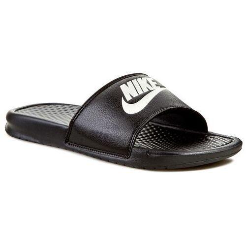 Klapki - benassi jdi 343880 090 czarny, Nike, 40-47.5